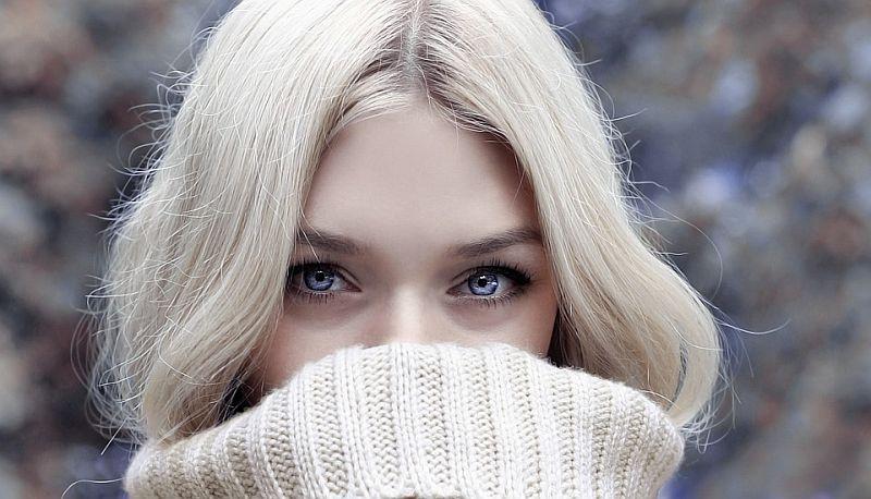 veido odos priežiūra žiemą